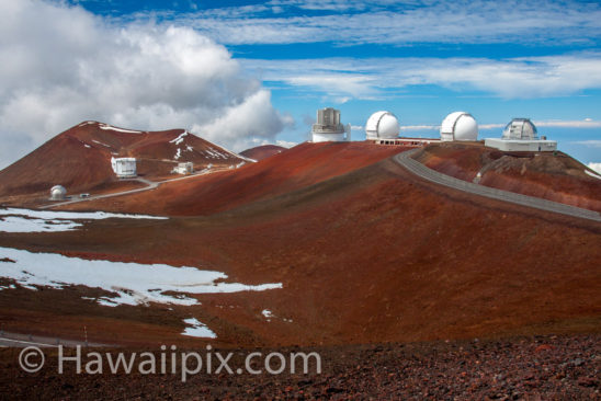 Observatories on Mauna Kea