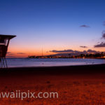 Ala Moana Beach After Sunset