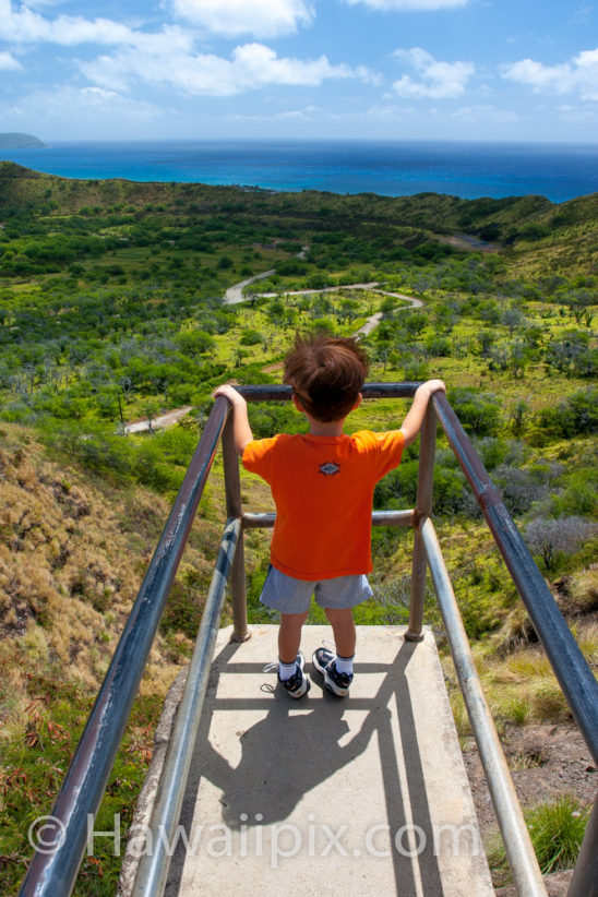 On The Edge Of Diamond Head Crater