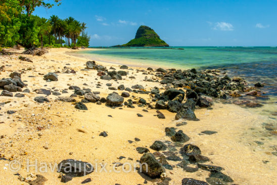 Kualoa Beach and Mokoli'i Island