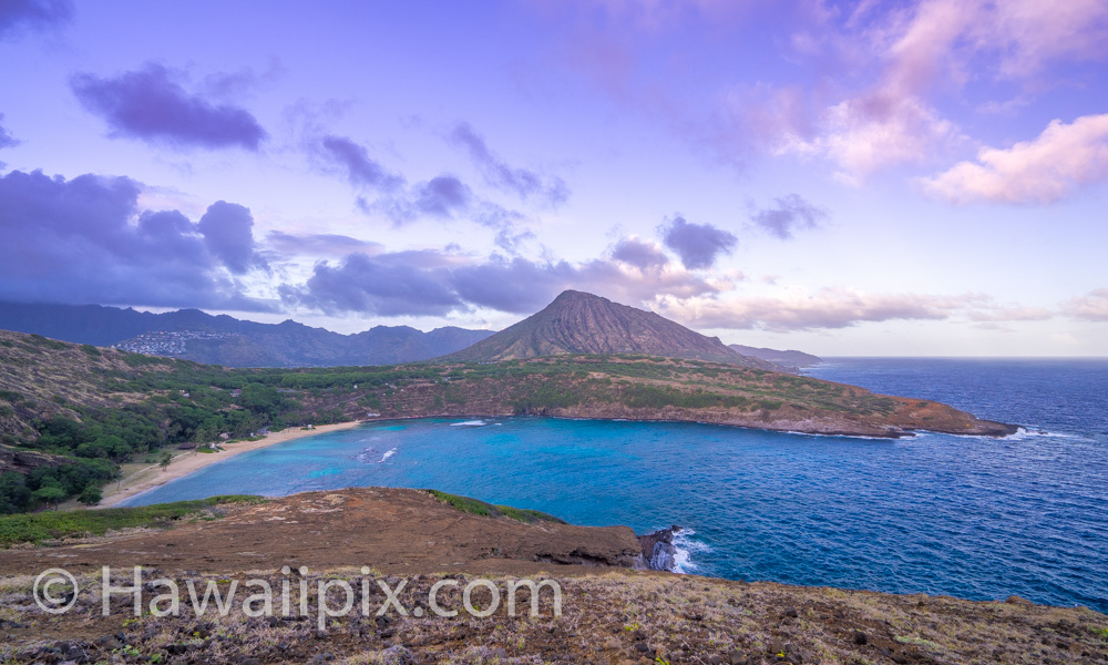 Hanauma Bay Sunset