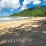 Kahana Bay Beach Park Footprints